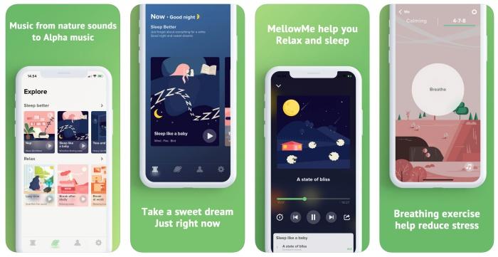 Cyber Apps 08/10/18 : MellowMe คลังเพลงผ่อนคลาย / Storyluxe